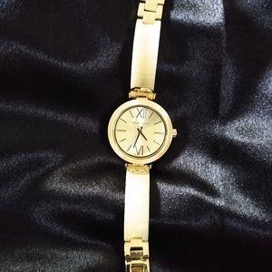 Anne Klein Abalone Shell Bracelet Watch